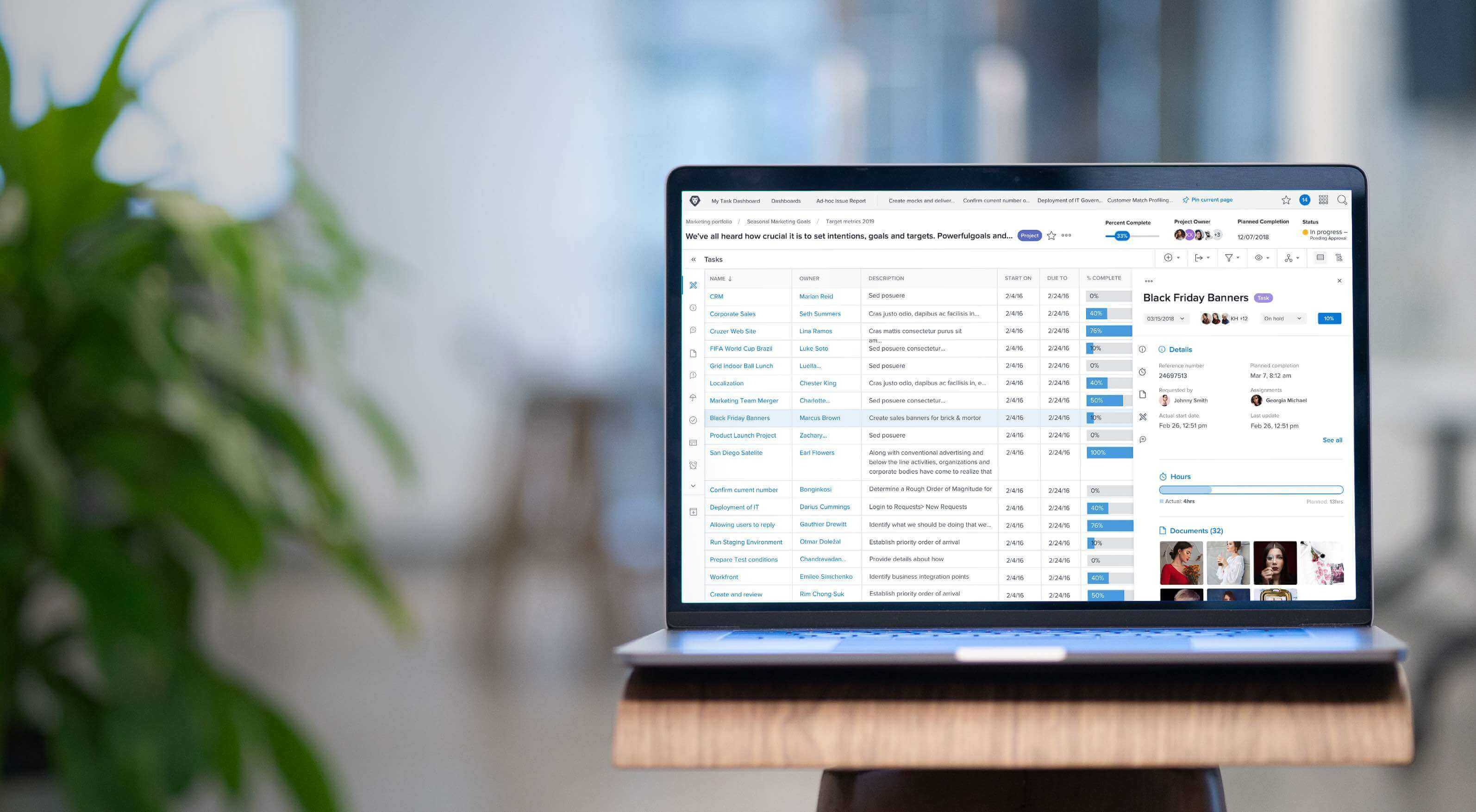 Workfront is the platform for enterprise work management.
