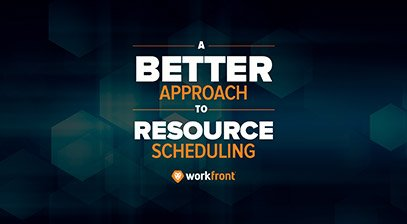 A better way to approach resource scheduling